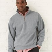 NuBlend® SUPER SWEATS® Quarter-Zip Pullover Sweatshirt