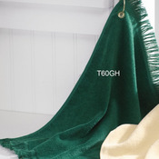 Fingertip Towel with Corner Grommet and Hook