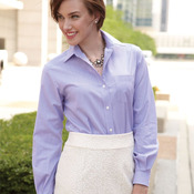 Ladies' Classic Pincord Spread Collar Shirt