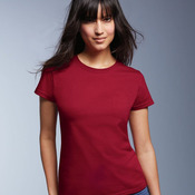Ladies' Midweight Short Sleeve T-Shirt