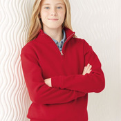 Nublend® Youth Cadet Collar Sweatshirt