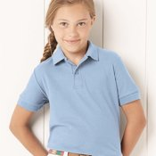 Easy Care Youth Pique Sport Shirt
