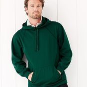 100% Polyester Fleece Hooded Pullover