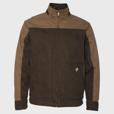 Horizon Two-Tone Cotton Canvas Jacket